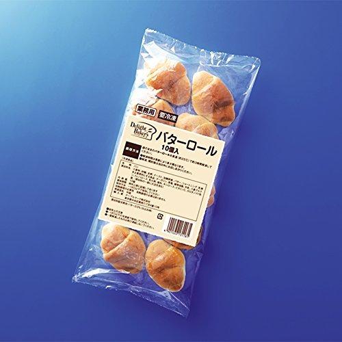 バターロール Q03 10個 【冷凍】/テーブルマーク(2袋)