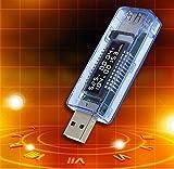 ZMAYA STAR USB???量?器電圧計 電流計 容量チェッカー 積算機能 ワット同時表示対応ZA-251
