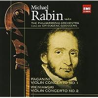 パガニーニ:ヴァイオリン協奏曲第1番/ヴィエニアフスキ:ヴァイオリン協奏曲第1番&第2番