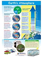 Earth's Atmosphere Visual Learning Guides Set/5-4-Panel 11 x 17 Laminated Guides Full-Color Graphic Overview Write-On/Wipe-Off Activities [並行輸入品]