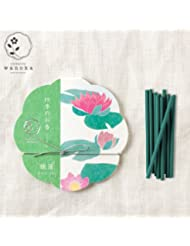 wanoka四季のお香(インセンス)睡蓮《睡蓮をイメージした清楚な香り》ART LABIncense stick