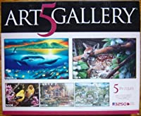 ART5GALLERY box set by WYLAND KEVIN DANIEL CARL BRENDERS KLAUS STRUBEL and ANN STOOKEY (1000750500500500= 3250 PIECES [並行輸入品]
