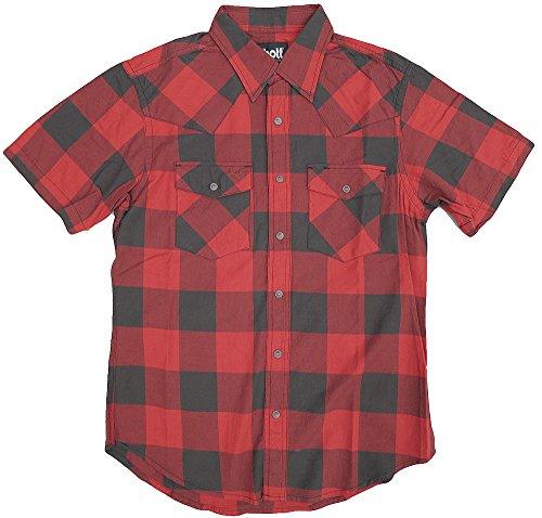 #3135033 ブロックチェック ウエスタンシャツ ショット