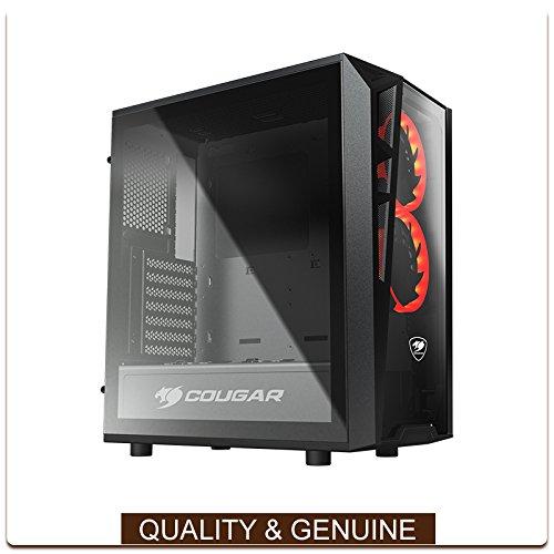 AMD Ryzen 5 2400G Quad Core 3.6Ghz 120GB SSD 1TB HDD 8GB DDR4 Computer Desktop Gaming PC (Windows 10 Home CD & Keys Included)