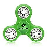 指こま ストレス解消 Relax 大人気 ADD &ADHD子供 大人に適用 フォーカスToy EDC Toy(グリーン)
