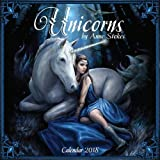 Unicorns by Anne Stokes Wall Calendar 2018 (Art Calendar)