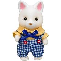 シルバニアファミリー 人形 シルクネコの男の子 ニ-63