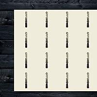 ハンドファイル 手形 木製ツール 滑らかな工芸ステッカー 44枚セット 1.5インチ スクラップブック/パーティー/シール/DIYプロジェクトに最適 商品256091