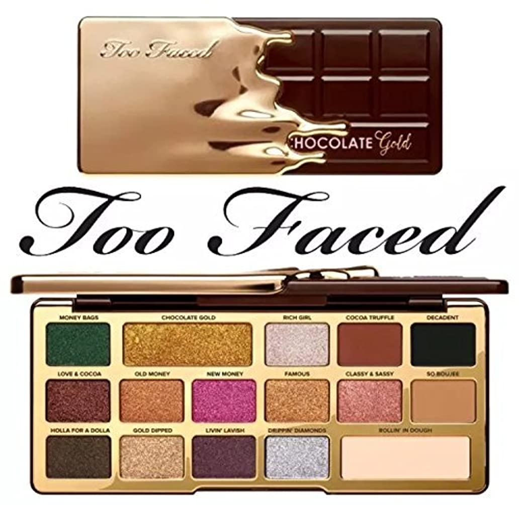 TOO FACED CHOCOLATE GOLD EYE SHADOW PALETTE アイシャドウパレット