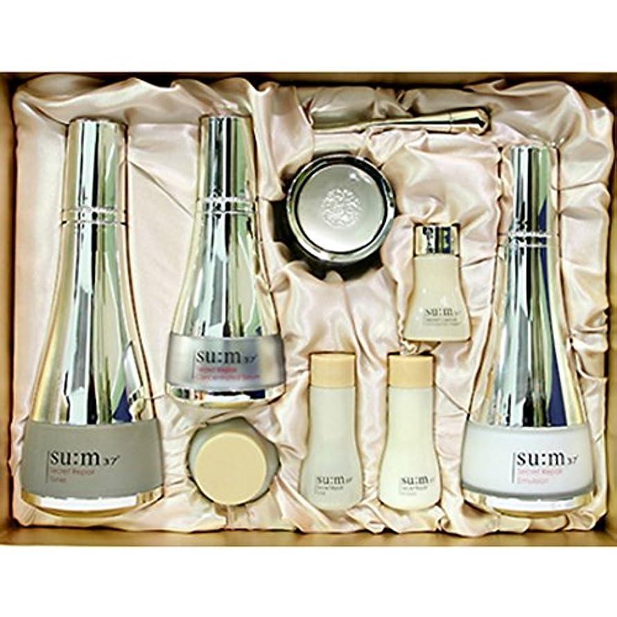 従来のハンディキャップり[su:m37/スム37°] SUM37 Secret Repair 3pcs Special Skincare Set/シークレットリペア3種セット+[Sample Gift](海外直送品)