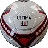 サッカーボールUltimaレッドandブラックユーロデザイン – サイズ5