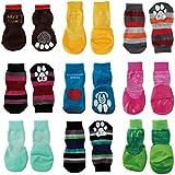 [何が届くかお楽しみ] 犬用靴下 1頭分 足の横幅3.5-4.0cm