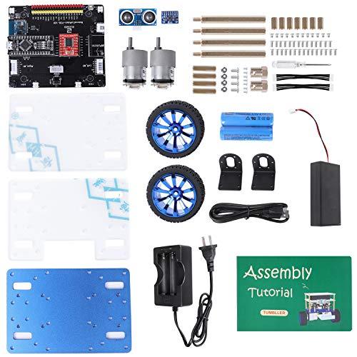 ELEGOO Tumbller Self-Blancing プログラミング二輪ロボットキット 子供向け Arduinoと互換できるSTEM玩具
