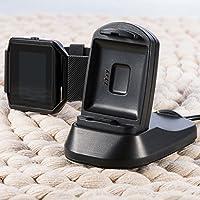 P Prettyia 充電スタンド スマートウォッチ クレードル ドック ケー ブル付き 高速充電  Fitbit Blaze専に適合