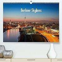 Berliner Skylines(Premium, hochwertiger DIN A2 Wandkalender 2020, Kunstdruck in Hochglanz): Berlin bietet von oben viele schoene Ansichten. (Monatskalender, 14 Seiten )