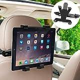 タブレットホルダー,Fonice 車 後部座席適用 調節可能 360度回転式 工具不要で取付可能 4-11インチTablet用 スタン ド Samsung Galaxy iPad 2/3/4/mini/air Galaxy Tab/Google Nexusn/XiaomiMi8等対応スマホ&タブレット兼用