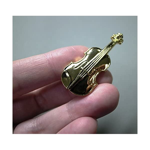 ナカノ スタンダードブローチ バイオリン ゴー...の紹介画像3