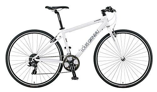 LOUIS GARNEAU(ルイガノ) LOUIS GARNEAU(ルイガノ) LGS-CHASSE 2015年モデル クロスバイク マットホワイト/470mm 15LG-CSE-03