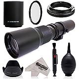 スーパー500mm / 1000mm F / 8手動望遠レンズfor Nikon d5、DF , d4s , d4, d3X , d810, d800, d750、d700、d610、d500、d300、d90、d7200、d7100、d5500, d5300, d5200, d5100, d3300, d3200デジタルSLRカメラ