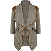 Ausexy Womens Knitted Casual Coat Long Sleeve Tops Cardigan Lapel Autumn Winter Jacket Outwear Plus Size Everyday Clothing