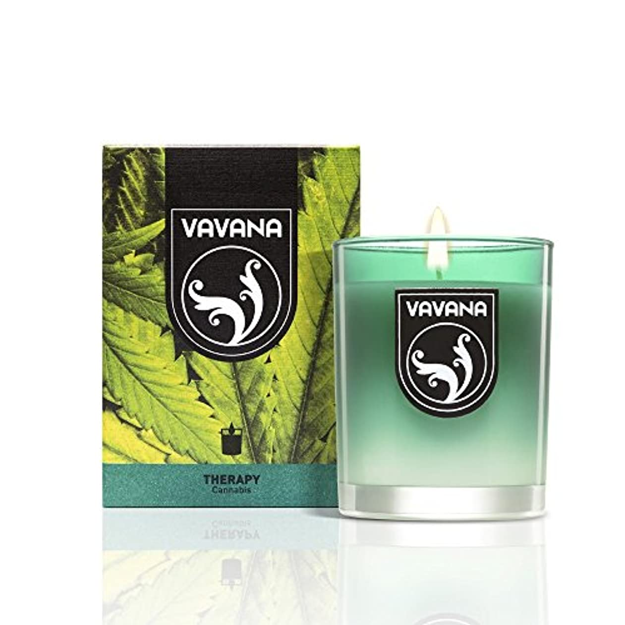 電化する破壊的な天vavana – Cannabis Highly Scented Candle