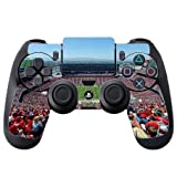 49ers Stadium PS4 DualShock4 Controller Vinyl Decal Sticker Skin by Compass Litho by Compass Litho [並行輸入品]