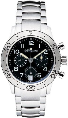 腕時計 スポーツモデルタイプXX トランスアトランティック 3820ST ブラック メンズ ブレゲ