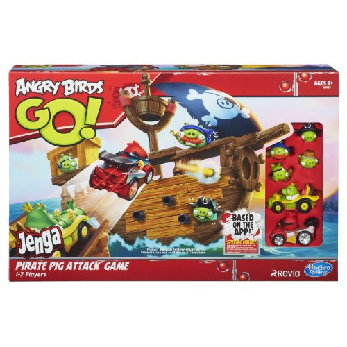 Angry Birds Go! Jenga Pirate Pig Attack Game 【直輸入品】