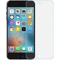 【最新4D曲面 iPhone 6/6S plus 専用設計】Eonfine 液晶保護フィルム アイフォン 6/6S plus フィルム 強化ガラスフィルム 指紋防止 高感度タッチ 超薄 硬度9H 撥油性 気泡防止 高鮮明 防爆裂 クリア(1枚入り)