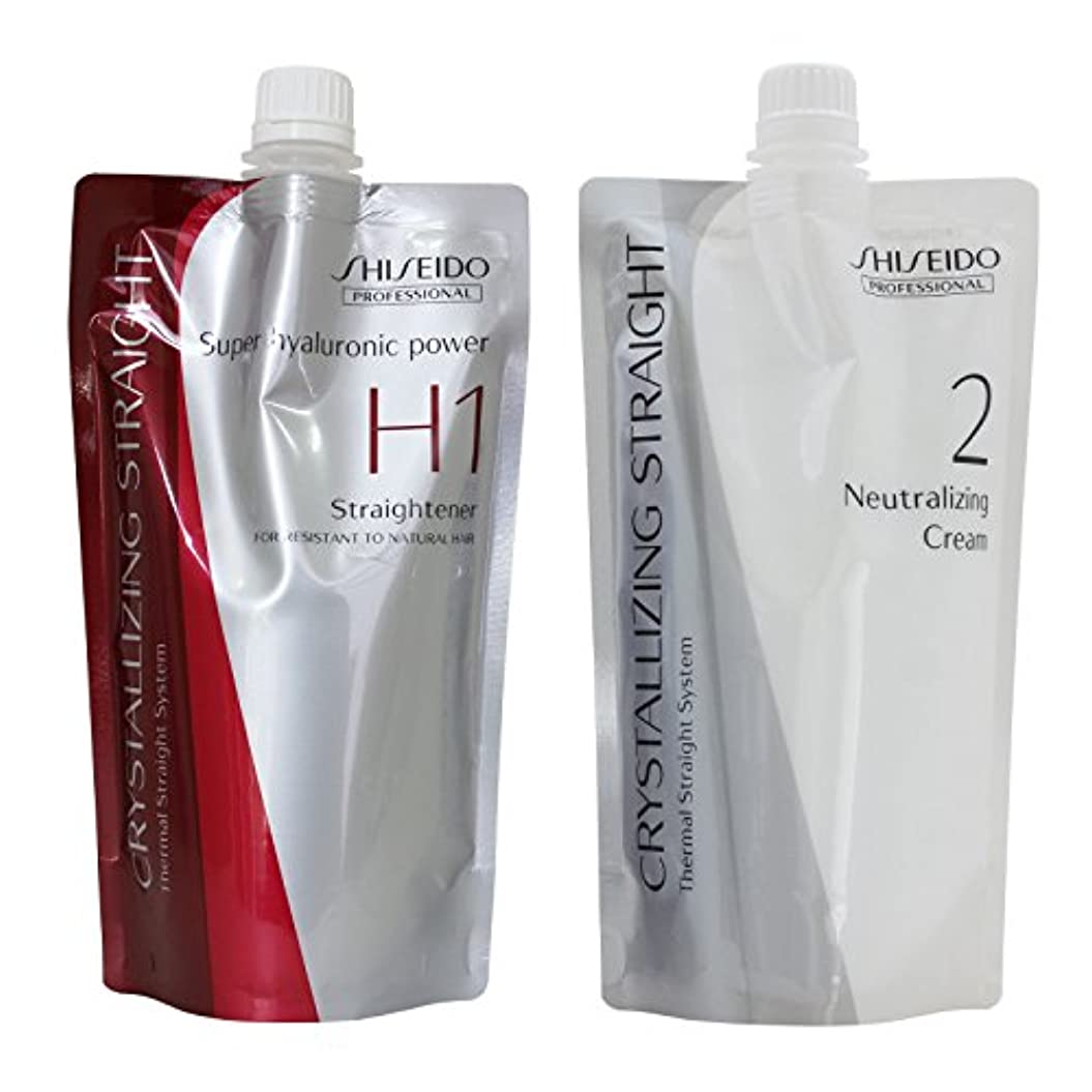松組立におい資生堂プロフェッショナル 縮毛矯正剤 クリスタラジングストレート α H ハードタイプ
