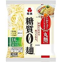 紀文 糖質0g麺 丸麺 6個セット