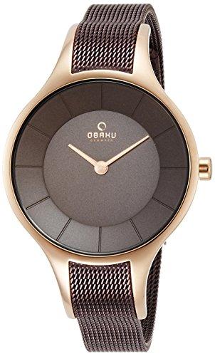 [オバク]OBAKU 腕時計 2針 V165LXVNMN レ...