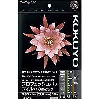 コクヨ インクジェット プロフィルム 超高光沢 2L 10枚 KJ-A102L-10