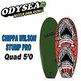 ODYSEA オディシーサーフボード [CHIPPA WILSON-STUMP PRO 5'0 QUAD] PRO SERIES CATCHSURF キャッチサーフ ソフトボード スポンジボード