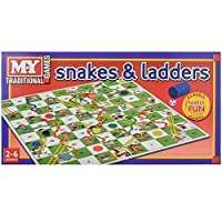 Snakes and Ladders Board Game Traditional Children Game