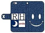 iPhone7 アイフォン7 手帳型レザーケース/カード収納/スタンド/スマホケース/横開き/高級/高品質/ジャケット デニム1001