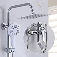 浴室のシャワーセット バスタブシャワーホット&コールド蛇口シャワーセット加圧水栓シャワーセット