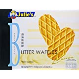 Julie's Butter Waffles Biscuits Box, 100g