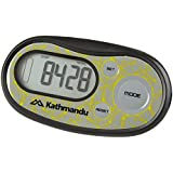Kathmandu Slim 3D Pedometer Steps Walk Distance Pocket Neck Motion Sensor