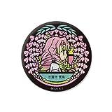 VETCOLO 鬼滅の刃 グリッター缶バッジ 09. 甘露寺蜜璃