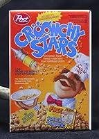 Croonchy Stars Cerealボックス冷蔵庫マグネット。The Swedish Chef