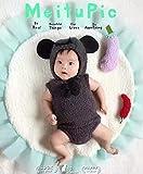 【Abz company】 ブラック クマ もこもこ あったか おくるみ 超 かわいい ロンパース 新生児 男女共用 0か月~6か月 カバーオール 幼児 出産祝い ハロウィン コスチューム お菓子 袋 付き クマ(ブラック)