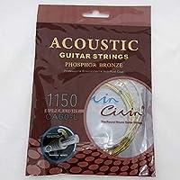 アコースティックギター弦 6弦セット 011~050