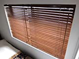 ブラインド 木製(ウッド) 横幅88×高さ180cm ウォルナット