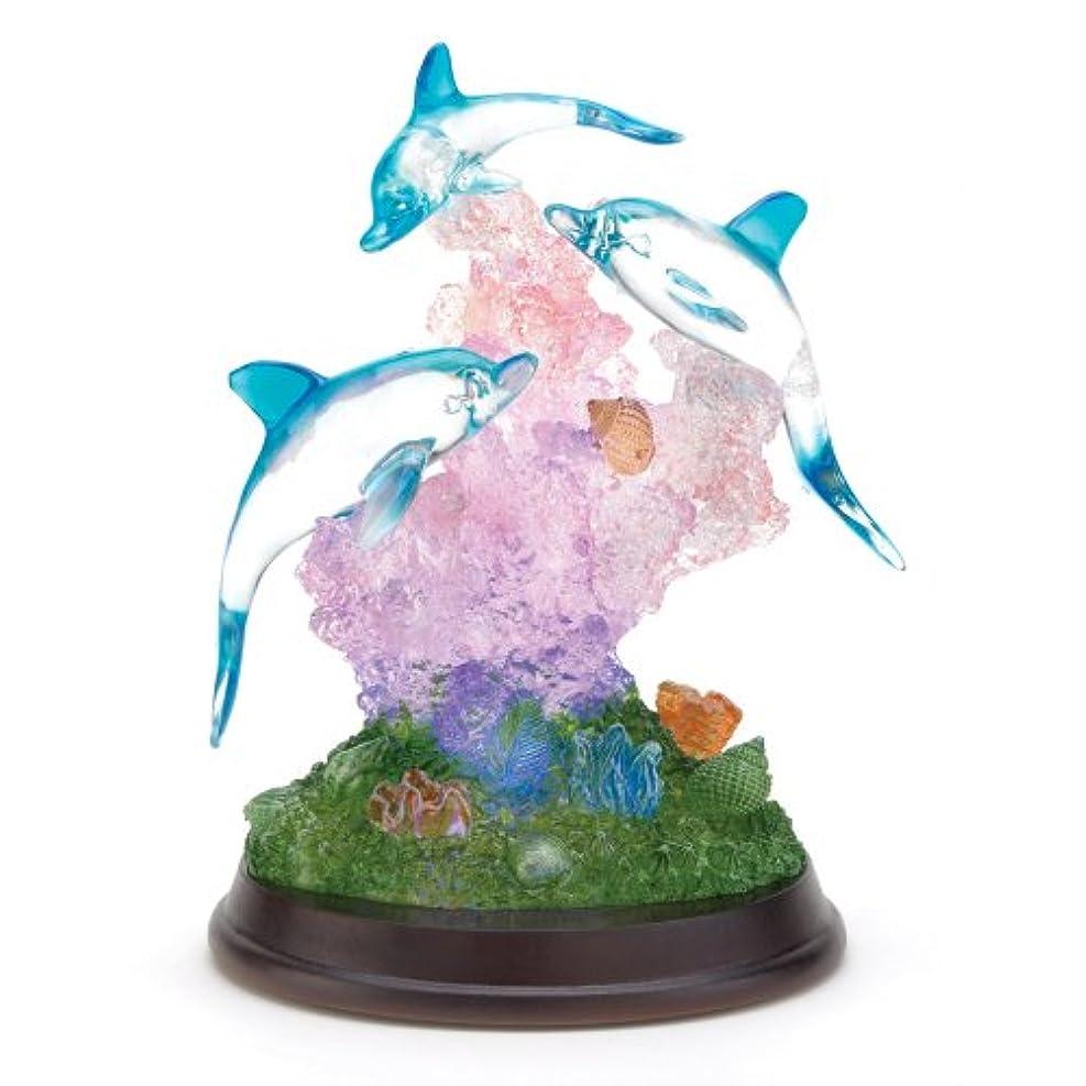 苦味印象巨人SWM 38031 Light-Up Dolphin Sculpture