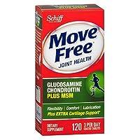海外直送品Schiff/Bio Foods Schiff Move Free Advanced Tablets Plus Msm, 120 tabs (Pack of 4)