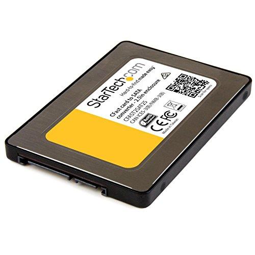 StarTech CFastカード - SATA変換アダプタ 2.5インチSATAドライブとして使用可能 CFAST2SAT25 1個