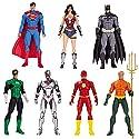 DC アクションフィギュア DCコミックス 6インチジャスティス・リーグ(7パック) 高さ約18センチ プラスチック製 塗装済みアクションフィギュア