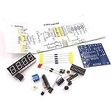自作 DIY LED デジタル 置き 時計 電子 工作 組立 キット