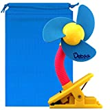 ベビーカー 扇風機 クリップファン USB扇風機 クリップ式 扇風機 デスクファン 卓上扇風機 (ブルー)